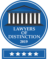 Lawyers of Distinction 2019 Accolade